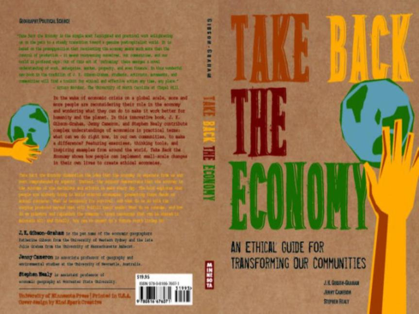 Ethical and practical steps to community economies