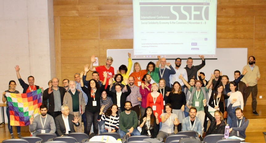 Commons and Comrades – Social Solidarity Economy & the Commons Conference in Lisbon 6.-8.11.2019